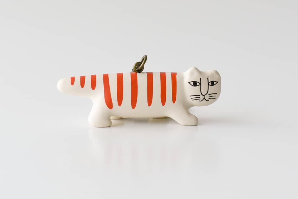 Lisa Larson/リサ・ラーソン/キーホルダー/ネコの商品写真
