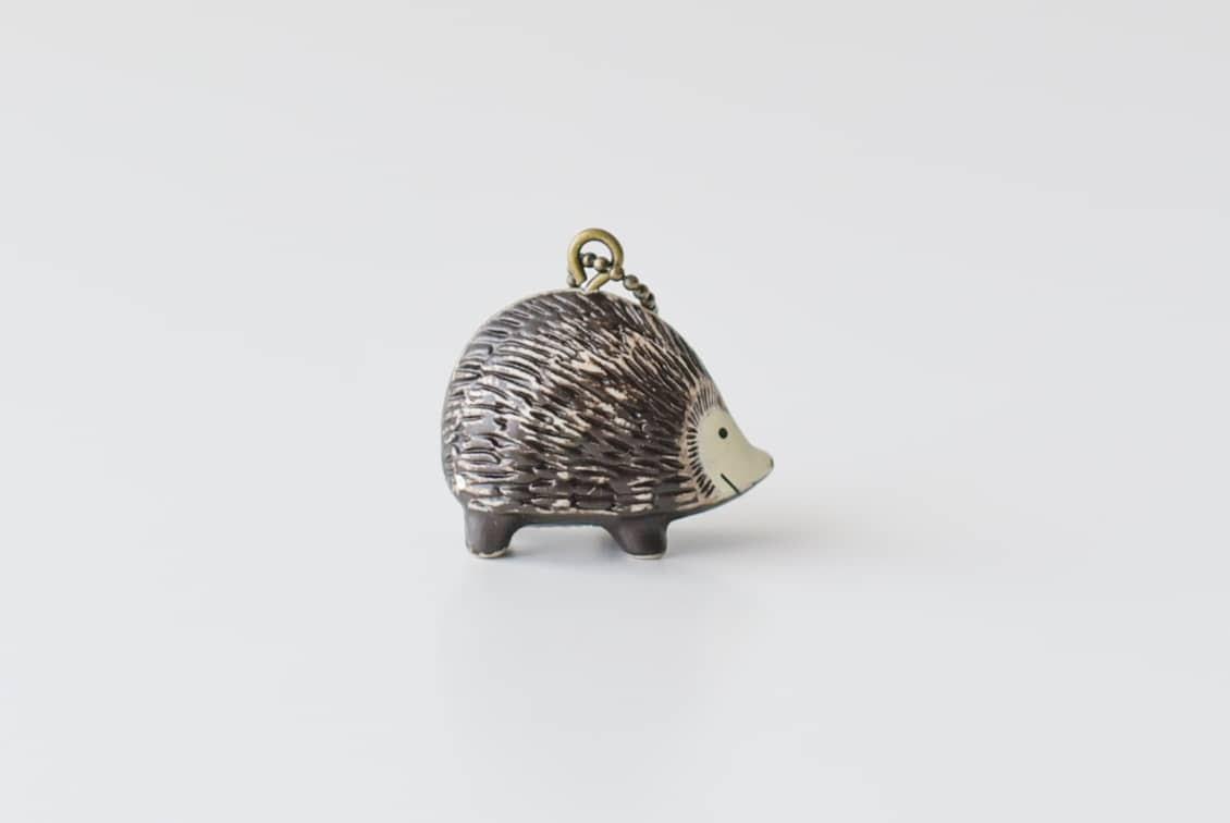 Lisa Larson/リサ・ラーソン/キーホルダー/ハリネズミの商品写真