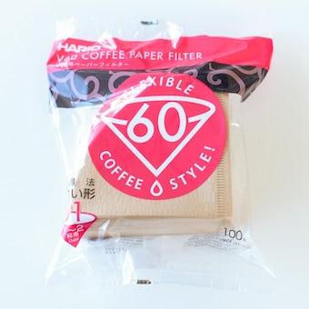 HARIO/ハリオ/V60ペーパーフィルター(1〜2杯用)100枚入りの商品写真