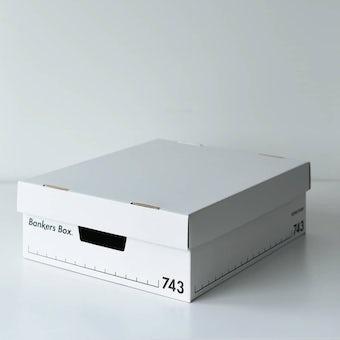 Fellowes/BankersBox/バンカーズボックス / ハーフサイズ(2個セット)の商品写真