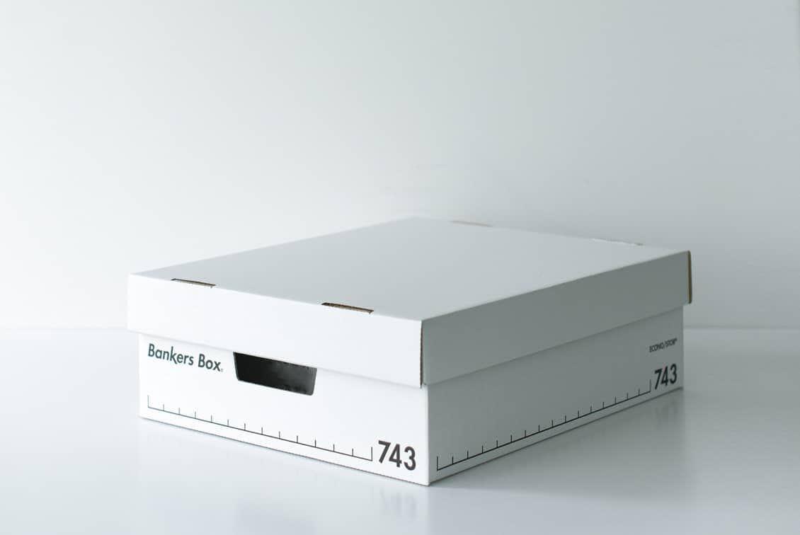 Fellowes/BankersBox/バンカーズボックス(ハーフサイズ)の商品写真