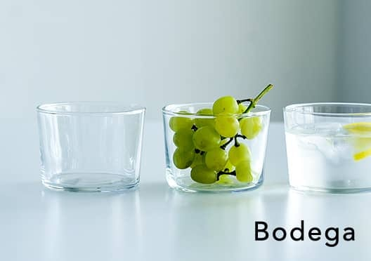 Bodega/ボデガ/グラスの画像