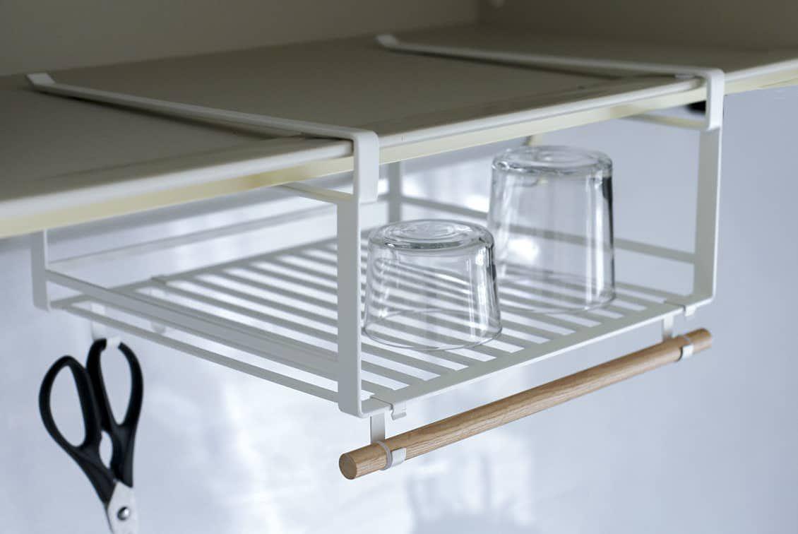 【取り扱い終了】水切りもできる、戸棚下ラック/KURASHI&Trips PUBLISHINGの商品写真