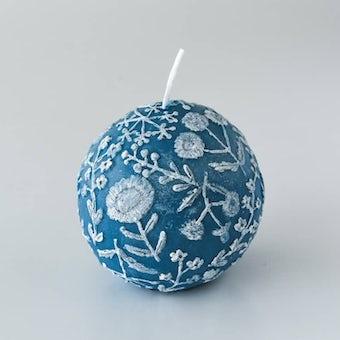 【次回入荷未定】nuri candle/夜の静まり/アロマキャンドル(球体)の商品写真