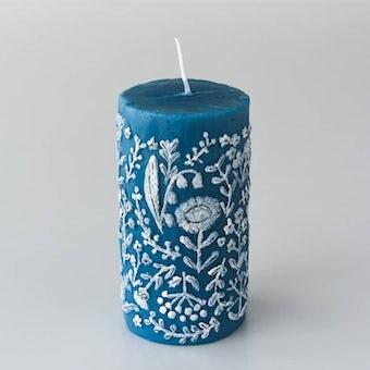 【次回入荷未定】nuri candle/夜の静まり/アロマキャンドル(円柱)の商品写真