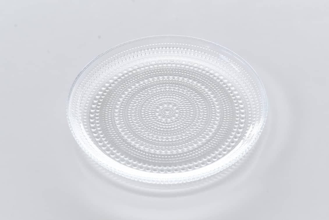 iittala/イッタラ/Kastehelmi/カステヘルミ/24.8cmプレート(クリア)の商品写真