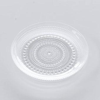 【次回入荷未定】iittala/イッタラ/Kastehelmi/カステヘルミ/17cmプレート(クリア)の商品写真