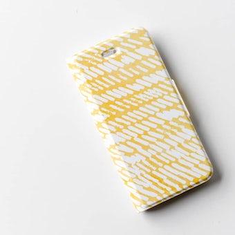 【取り扱い終了】iPhoneケース/夕日にゆれる波/KURASHI&Trips PUBLISHINGの商品写真