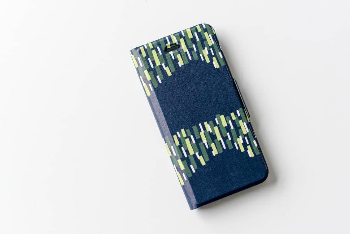【取り扱い終了】iPhoneケース/オーロラに出会えた夜/ KURASHI&Trips PUBLISHINGの商品写真