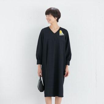 【次回10月入荷予定】レギュラーサイズ/「大切な日もわたしらしく」フォーマルワンピース(コクーン)/atelier naruse×KURASHI&Trips PUBLISHINGの商品写真