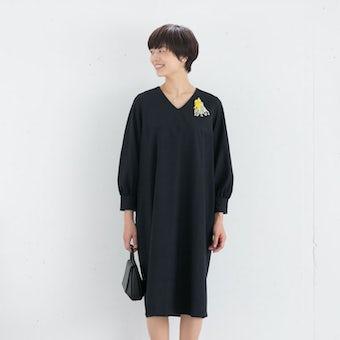 【次回10月入荷予定】小さいサイズ/「大切な日もわたしらしく」フォーマルワンピース(コクーン)/atelier naruse×KURASHI&Trips PUBLISHINGの商品写真
