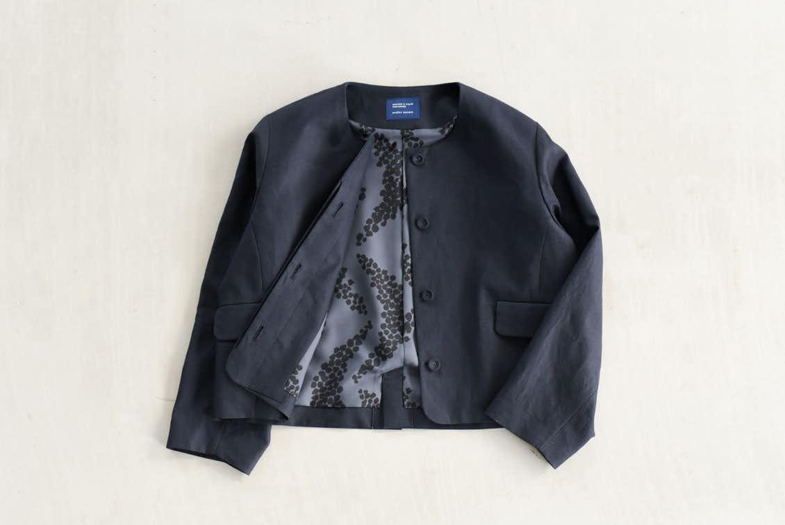 【今季終了】フリーサイズ/フォーマルワンピースに合うジャケット/atelier naruse×KURASHI&Trips PUBLISHINGの商品写真