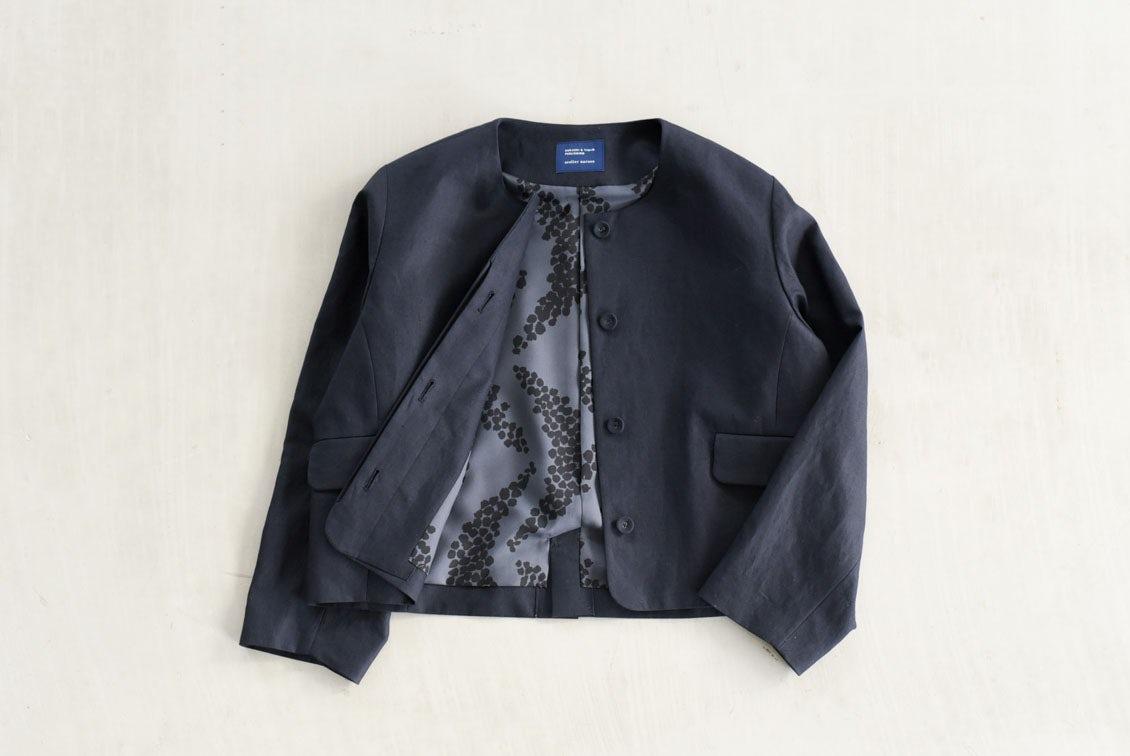 【次回10月入荷予定】フリーサイズ/フォーマルワンピースに合うジャケット/atelier naruse×KURASHI&Trips PUBLISHINGの商品写真