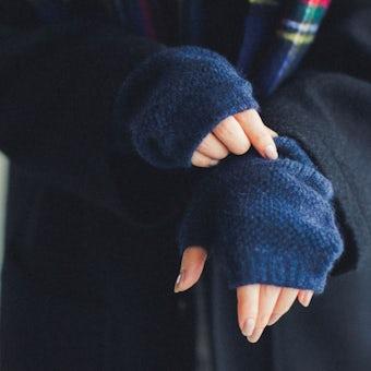 【今季終了】GLENGORDON/グレンゴードン/アームウォーマー(ネイビー)の商品写真