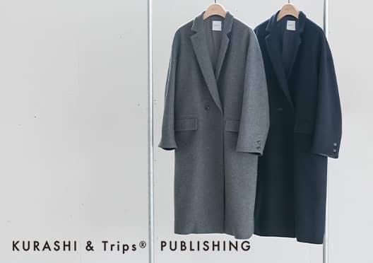 KURASHI&Trips PUBLISHING /オリジナルウールコートの画像