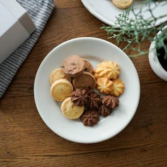 クリスマスの特別なクッキーボックスの商品写真