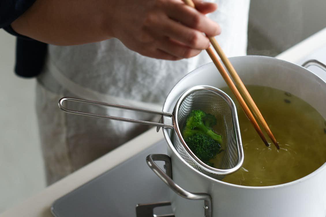 茹で分けザル/家事問屋の商品写真