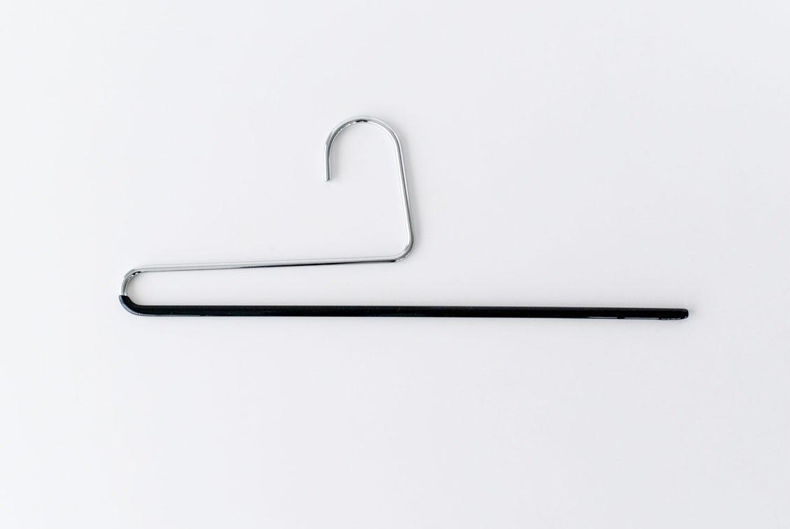 MAWAハンガー/パンツ用/シングルタイプ(ブラック)の商品写真