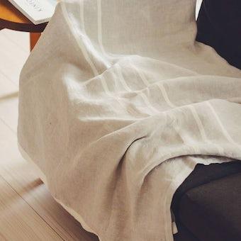 【今季終了】LAPUAN KANKURIT/ラプアン・カンクリ/USVA/マルチユースタオル (W95×H180) ホワイトの商品写真