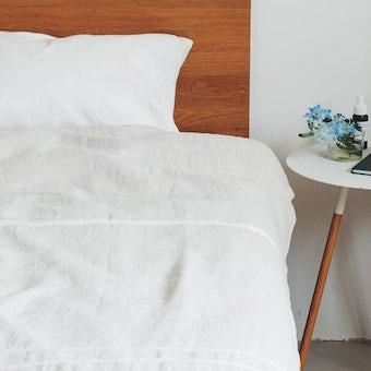 LAPUAN KANKURIT/ラプアン・カンクリ/USVA/リネンブランケット (W150×H200) ホワイトの商品写真
