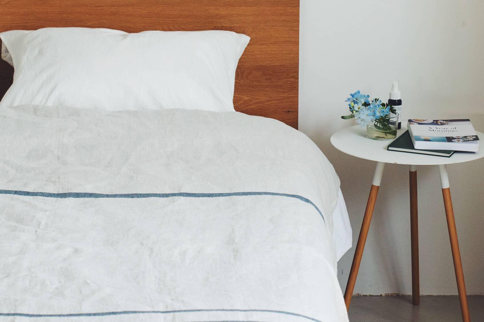 LAPUAN KANKURIT/ラプアン・カンクリ/USVA/リネンブランケット (W150×H200) グレーの商品写真