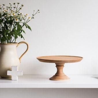 「ちいさな憧れを日常に」木のコンポート皿の商品写真