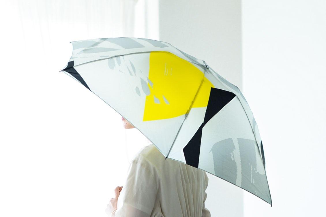 【次回9月入荷予定】折りたたみ傘 / 晴雨兼用 / サトウアサミ×KURASHI&Trips PUBLISHING(Jelly)の商品写真