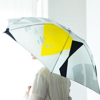 【次回3月上旬入荷予定】折りたたみ傘 / 晴雨兼用 / サトウアサミ×KURASHI&Trips PUBLISHING(Jelly)の商品写真