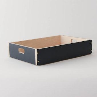 LINDEN BOX/ネイビー(S)の商品写真