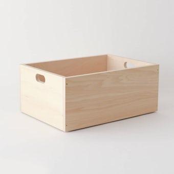 LINDEN BOX/ナチュラル(M)の商品写真