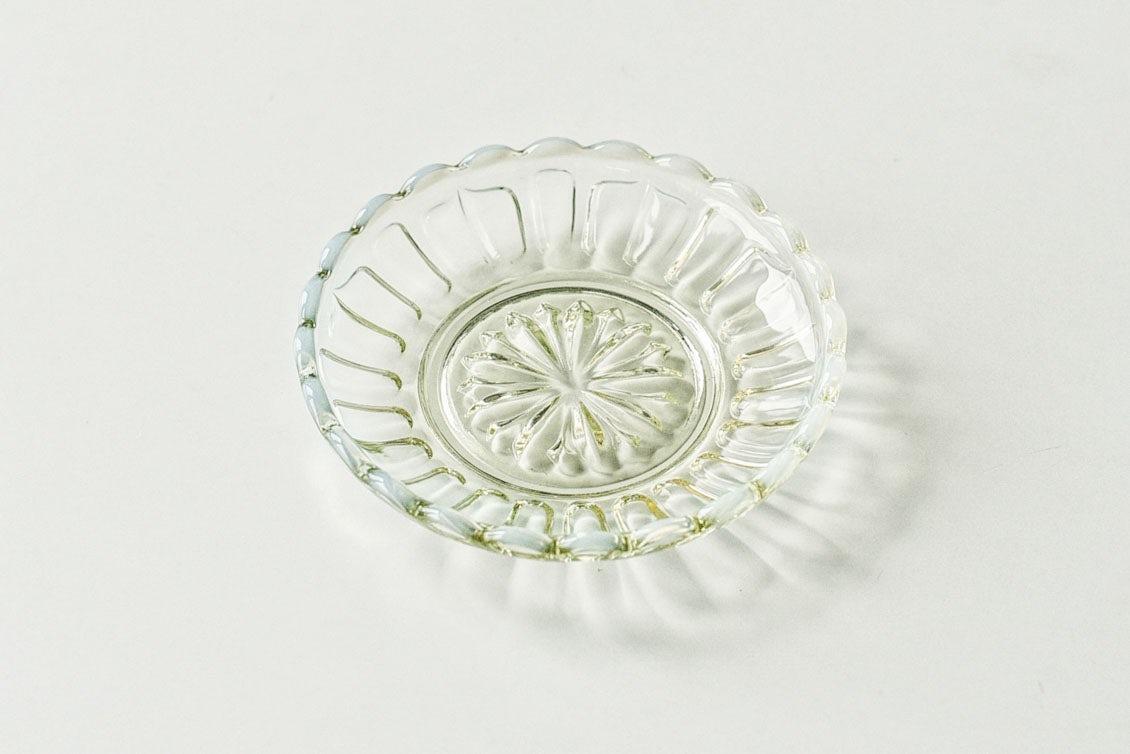 廣田硝子/雪の花シリーズ/豆皿の商品写真