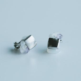 【次回入荷未定】Tenpchiイヤリング(シルバー)の商品写真