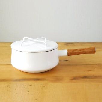 【取り扱い終了】DANSK/ダンスク/コベンスタイル2/片手鍋 18cm(白)の商品写真