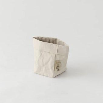 UASHMAMA / ペーパー収納バッグ / オフホワイト(S)の商品写真
