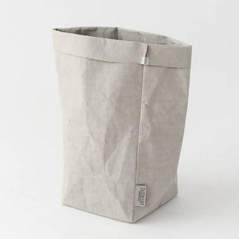 UASHMAMA / ペーパー収納バッグ / ライトグレー(L)の商品写真