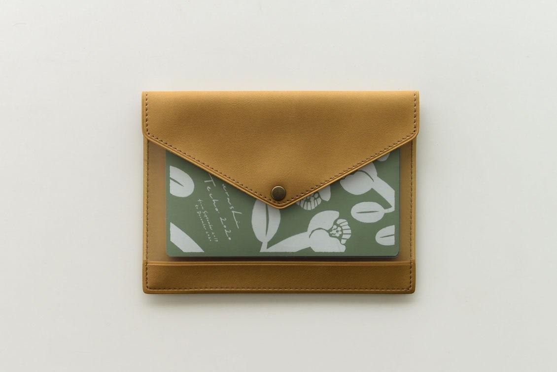 「クラシ手帳」がおさまるマルチケース(キャメル)/KURASHI&Trips PUBLISHINGの商品写真
