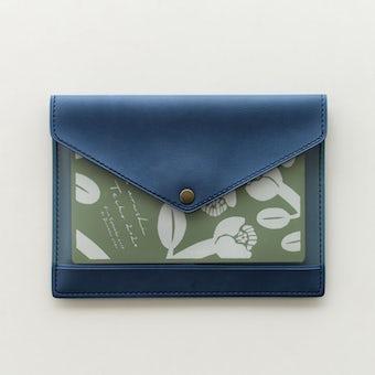 「クラシ手帳」がおさまるマルチケース(ブルー)/KURASHI&Trips PUBLISHINGの商品写真