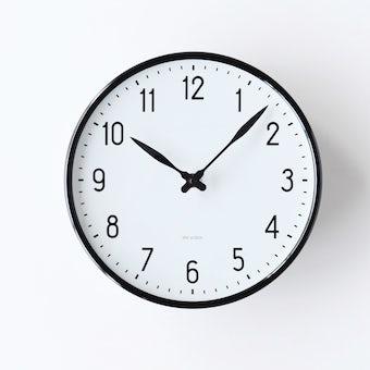ARNE JACOBSEN/アルネ・ヤコブセン/STATION/壁掛け時計(21cm)の商品写真