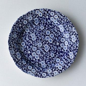 BURLEIGH/CALICO/キャリコ/プレート 21.5cm(ブルー)の商品写真