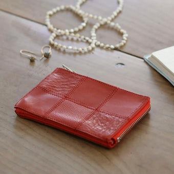 【次回12月上旬入荷予定】yes/イエス/スクエア/カードケース(レッド)の商品写真