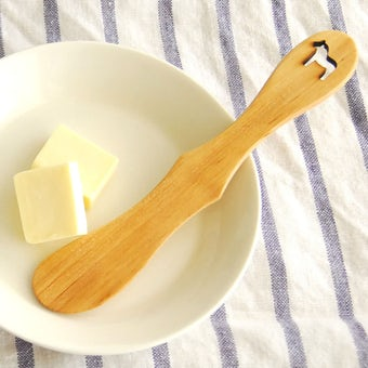 スウェーデン/SKANDINAVISK HEMSLOJD/バターナイフ(ムース)の商品写真