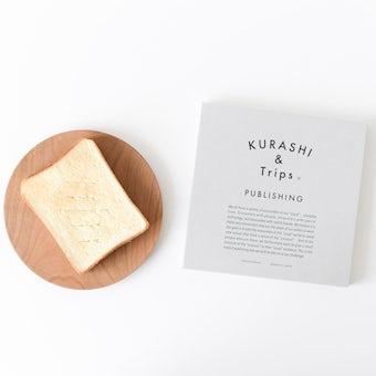 【取り扱い終了】KURASHI&Trips PUBLISHING/木のパン皿(直径18cm)の商品写真