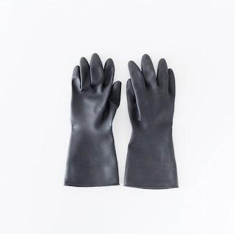 Marigold/マリーゴールド/ゴム手袋/ガーデニング・DIY用(ブラック)/Mサイズの商品写真