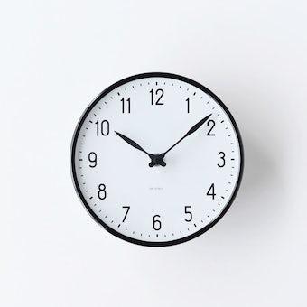 ARNE JACOBSEN/アルネ・ヤコブセン/STATION/壁掛け時計(16cm)の商品写真