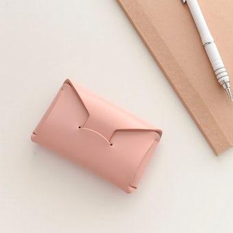 【取り扱い終了】StitchandSew/ステッチアンドソー/カードケース(ピンク)の商品写真