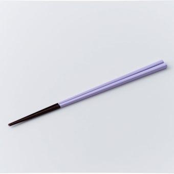伝統の色箸/お箸/藤色(ふじいろ)の商品写真