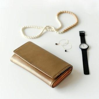 【次回入荷未定】Permanent Age/パーマネントエイジ/長財布(ゴールド)の商品写真