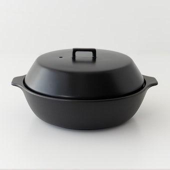KINTO/KAKOMI/カコミ/IH対応土鍋 3〜4人用(ブラック)の商品写真