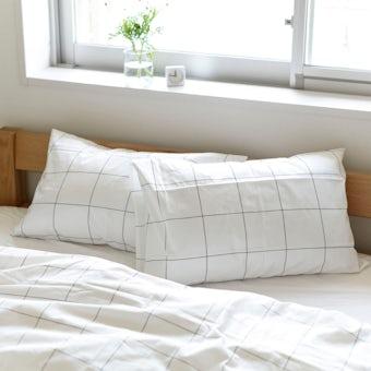 sisdesign / 枕カバー / グラフチェック (43cm×63cm)の商品写真