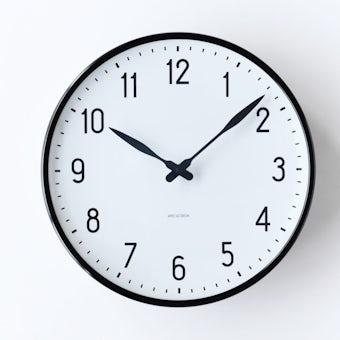 ARNE JACOBSEN/アルネ・ヤコブセン/STATION/壁掛け時計(29cm)の商品写真